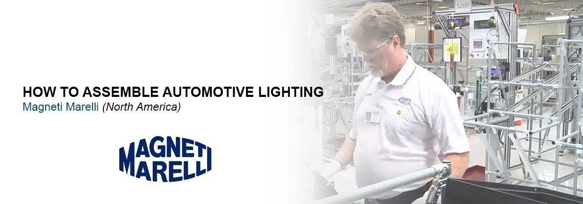 Jak Magneti Marelli vyrábí osvětlení pro automobilový průmysl?