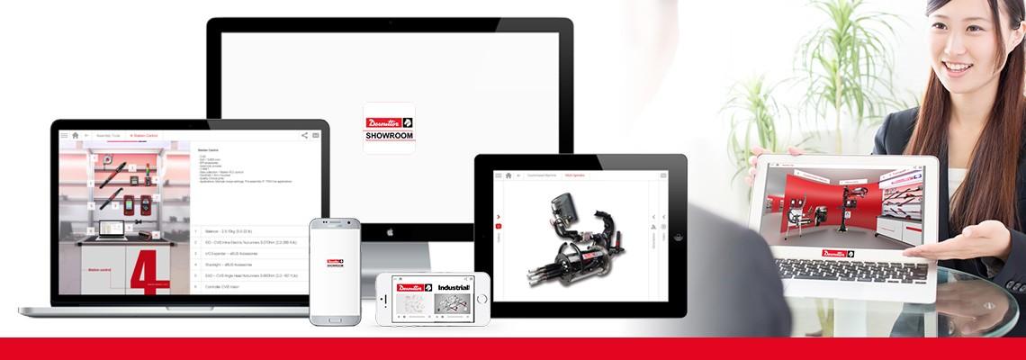 Stáhněte si aplikaci Showroom a objevte všechna naše řešení pro montáž a vrtání s využitím obrázků a videí. Desoutter je vždy s vámi, a to i když jste off-line.