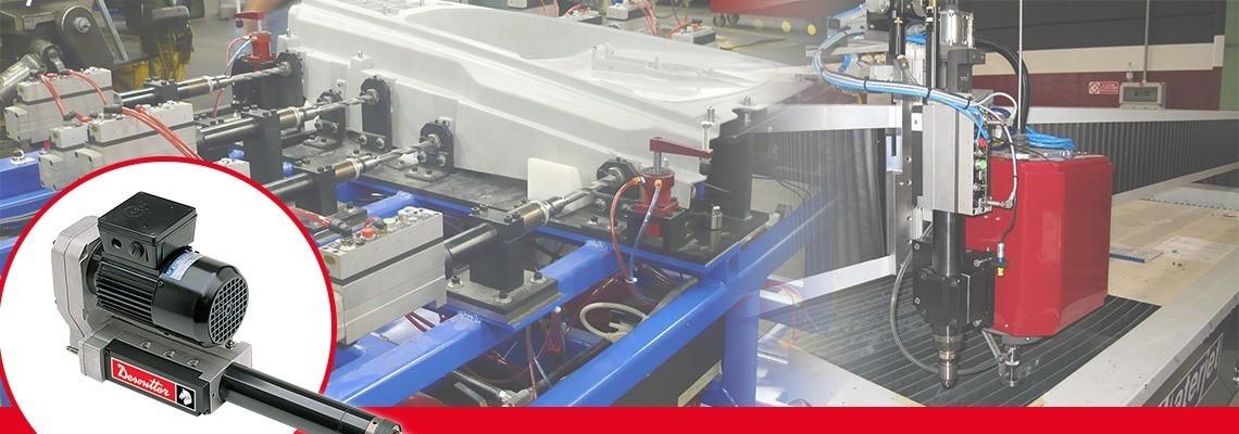 Seznamte se s kompletní řadou AFDE, pneumatického posuvu a elektrického pohonu od firmy Desoutter Tools určenou k použití v automobilovém a leteckém průmyslu. Požádejte nás o cenovou nabídku nebo předvedení!