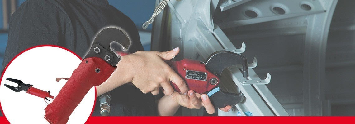 Firma Desoutter Tools vyvinula kompletní řadu pneumatického stlačovacího nářadí k použití v automobilovém a leteckém průmyslu. Vyžádejte si cenovou nabídku nebo předvedení!