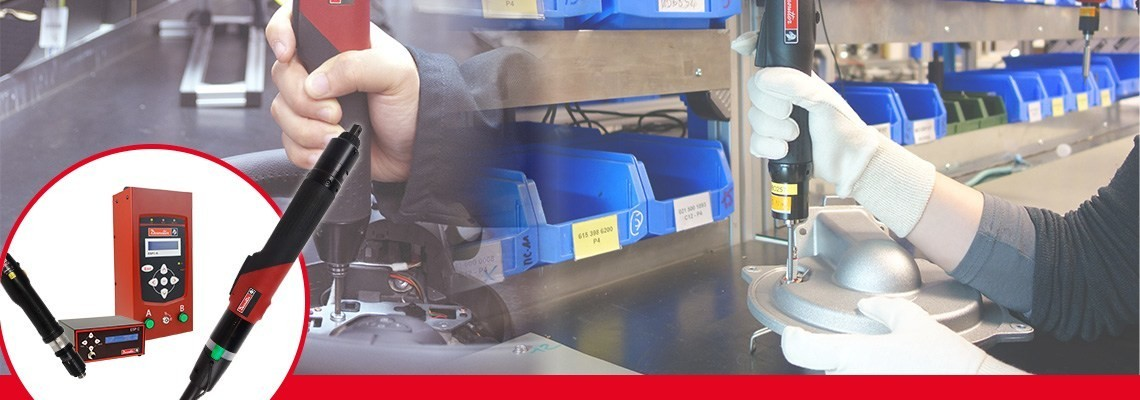 Objevte sortiment elektrických šroubováků od firmy Desoutter Industrial. Výkonné a snadno použitelné. Kontaktujte nás a my vám poskytneme detailní informace o našich elektrických šroubovácích SLK a vysoce výkonných elektrických šroubovácích SLE.