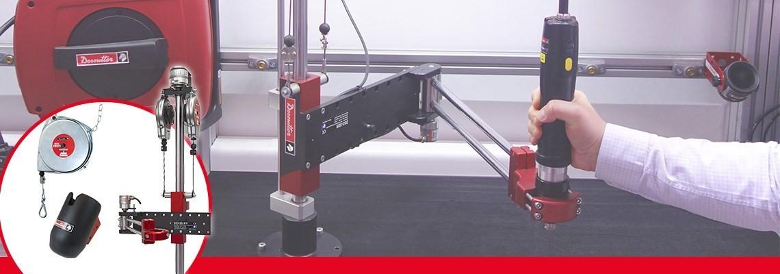 Ke zvýšení výkonnosti vašeho nářadí a pracovních stanic. Firma Desoutter Industrial Tools nabízí rozsáhlý sortiment produktů. Obraťte se na nás s žádostí o předvedení.