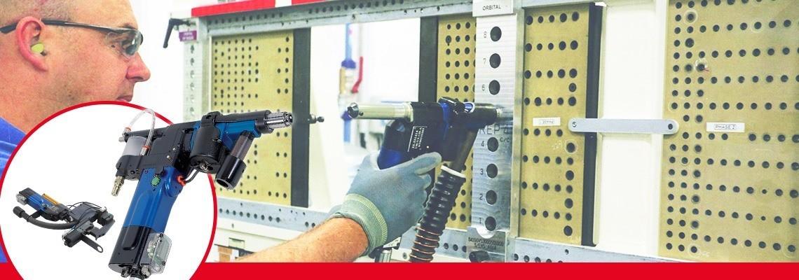 Vyspělé pneumatické vrtací jednotky řady Seti-Tec jsou určeny k provádění poloautomatických operací vrtání pro montážní zařízení v leteckém průmyslu.