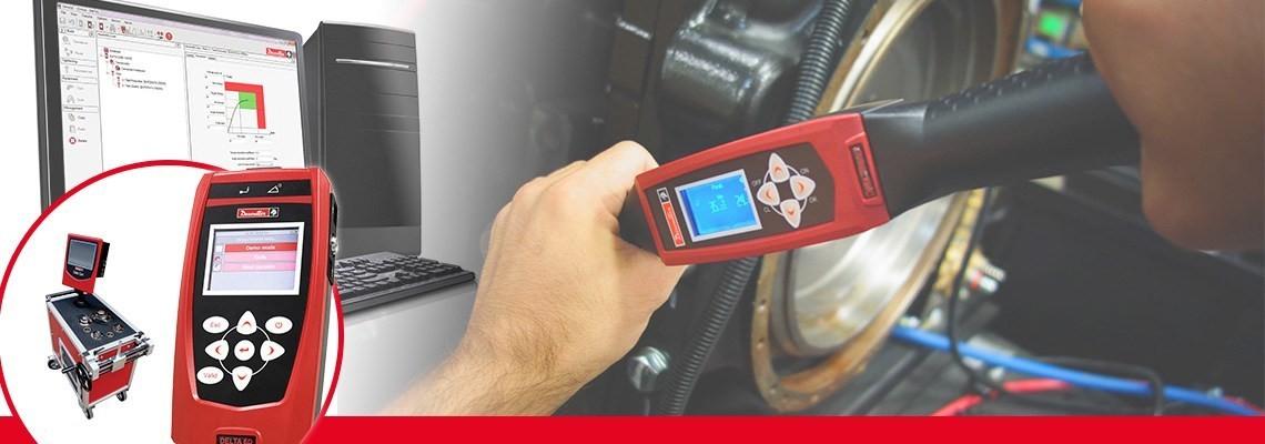 Seznamte se s produkty pro měření utahovacího momentu pro elektrické a pneumatické nářadí vyvinuté firmou Desoutter Tools, které umožňují plnou dohledatelnost a přispívají k zajištění přesnosti.