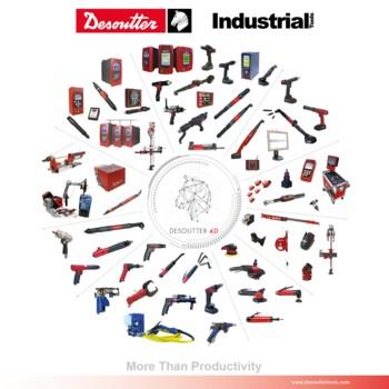 Poutač společnosti Desoutter Industrial Tools