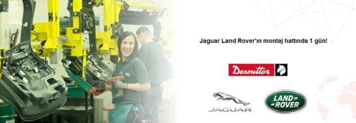 Užijte si jeden den v životě na montážní lince Jaguar Land Rover!