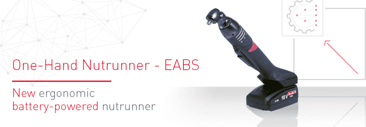 Nový ergonomický aku utahovák šroubů: EABS