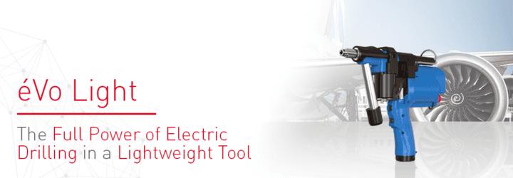Nové poloautomatické elektrické nářadí pro vrtací aplikace: éVo Light